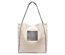 Handtasche mit Fächern