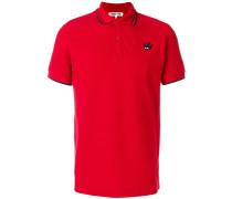 piquet logo polo shirt
