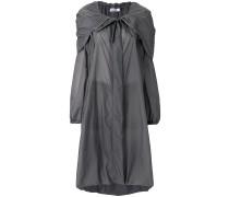 casual asymmetric coat