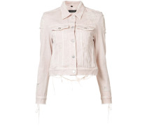 'Harlow' Jeansjacke mit Distressed-Optik