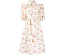 Neckholder-Kleid mit Blumen-Print