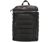 padded multi-pocket backpack