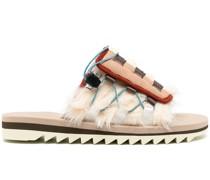 'Dao-3' Slipper aus Faux Fur