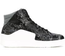 - High-Top-Sneakers aus Leder - men