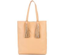 - Handtasche mit Quasten - women - Leder