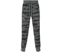 Camouflage-Jogginghose mit Kordelzug