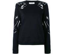Sweatshirt mit Panther-Print - women