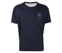 T-Shirt mit Military-Patch