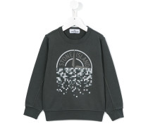 - Sweatshirt mit Logo-Print - kids - Baumwolle
