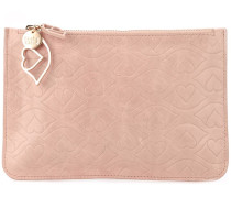 "Clutch mit ""Big Bisou""-Muster"