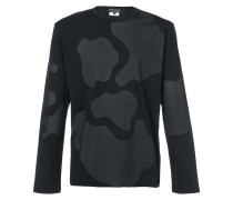 patterned long sleeve T-shirt