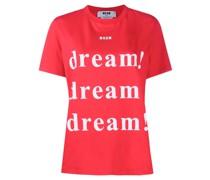 """T-Shirt mit """"Dream""""-Print"""