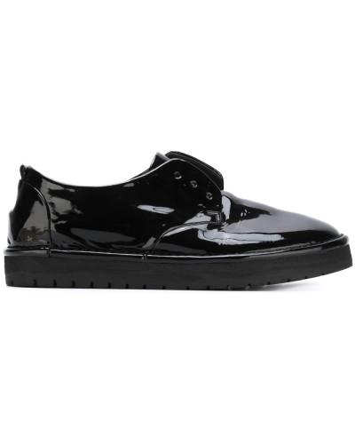 Schnürlose Derby-Schuhe