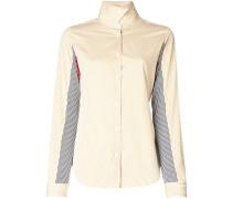 Gestreiftes Hemd in Colour-Block-Optik