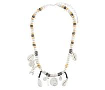 'Waves' Halskette in Perlenoptik