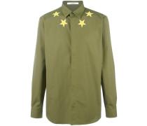 Hemd mit aufgestickten Sternen - men