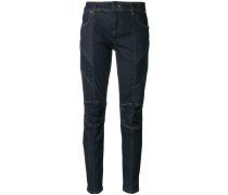 Skinny-Jeans mit Kontrastnaht