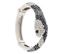 'Snake' Armreif mit Swarovski-Kristallen