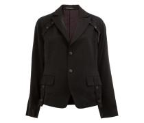 Taillierte Jacke mit Print
