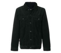 shearling collar corduroy jacket
