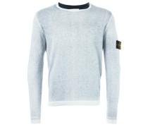 Pullover mit Arm-Patch - men - Baumwolle - XXL