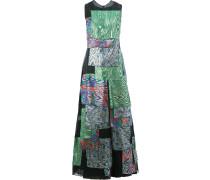 Kleid mit bedruckten Lagen
