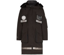 x juun.j Snow Mantra hooded parka coat