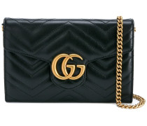 - Schultertasche mit GG-Schild - women