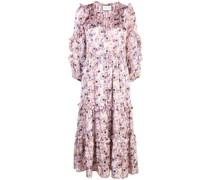 'Isbel' Kleid mit Blumen-Print