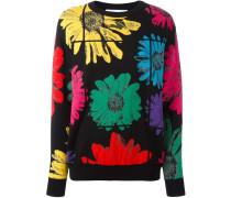 Pullover mit Blumen-Prints