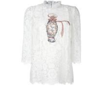 embellished lace blouse