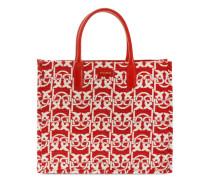 'Love' Jacquard-Shopper