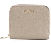 zip around grained wallet - women - Leder