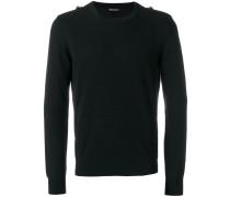 Pullover mit Schulterklappen