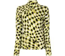 Brandy merino mock-neck jumper