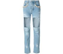 'Big Heroes' Jeans mit Distroyed-Effekt