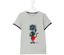 Teen printed T-shirt - kids - Baumwolle - 16 yrs