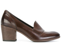 Pumps mit Blockabsatz - women - Leder/rubber