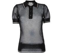 Semi-transparentes Poloshirt