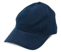 striped trim bow cap