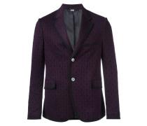 Horsebit jacquard jacket