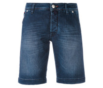 - denim bermudas - men - Baumwolle/Elastan - 33