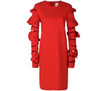 Kleid mit strukturierten Ärmel