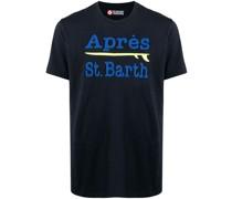 """T-Shirt mit """"Après St. Barth""""-Print"""
