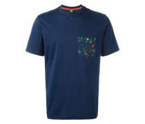 T-Shirt mit Kontrasttasche - men - Baumwolle - S
