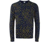 'K' Intarsien-Pullover