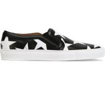 Slip-On-Sneakers mit Stern-Print - women