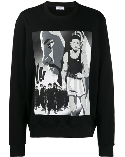 "Sweatshirt mit ""Creed""-Print"
