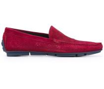 Perforierte Loafer