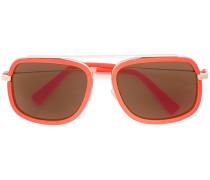 'Fluo Pilot' Sonnenbrille